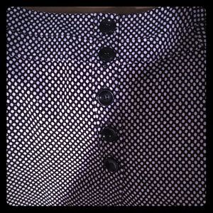 Dresses & Skirts - Classic TALBOTS black and white skirt